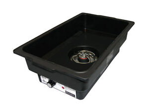Update Ecfr wp4 Electric Chafer Dish Water Pan 22in X 14in X 6in 450 Watts