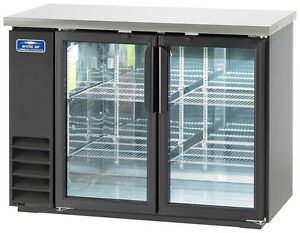 Arctic Air Abb48g 48 2 Glass Door Back Bar Cooler