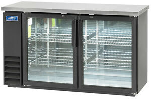 Arctic Air Abb60g 60 2 Glass Door Back Bar Cooler