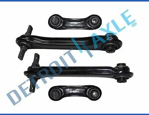 Brand New Set 4 Rear Control Arm Trailing Arms For 1993 02 Mitsubishi Mirage