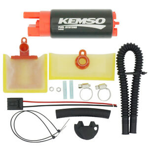 Kemso 340lph High Performance Electric Fuel Pump Replace Walbro 255lph Gss341
