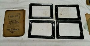 Nos 1923 Ford Model T Rear Windows Hyman S Glass 2 Window Set Glass Included