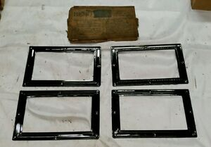 Nos Ford Model T Rear Windows Bemo Glass Curtain Lights 2 Window Set