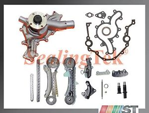 Fit 97 11 Ford 4 0l Sohc V6 Engine Timing Chain Kit W Cover Gasket
