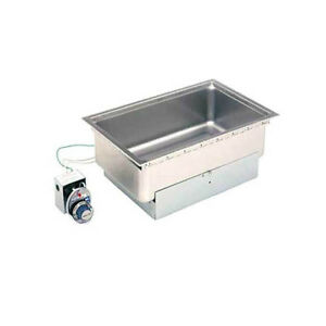 Wells Ss 206etd Full Size Built in Bottom Mount Food Warmer W Drain