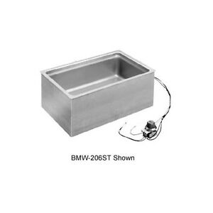 Wells Bmw 206rt 12 x20 Bottom Mount Built in Thermostatic Food Warmer