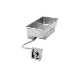 Wells Ss 276tdu 12 x27 Built in Top Mount Food Warmer W Drain