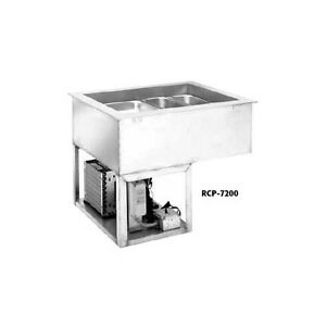 Wells Rcp 7600 6 Full Size Pan Drop in Cold Food Well Unit