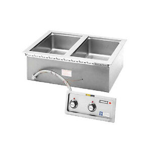 Wells Mod 200tdm af 2 12 x20 Built in Top Mount Food Warmer
