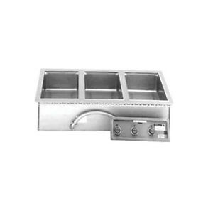 Wells Mod 300tdaf 3 12 x20 Built in Top Mount Food Warmer