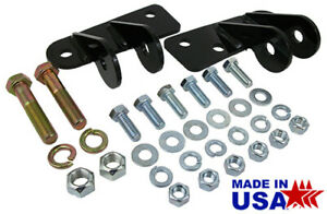 1973 87 Chevy C10 Truck Shock Mount Relocation Kit For Lowered Trucks Front