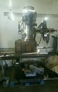 True trace Trace master Model 1110 Gorton 2 Axis Vertical Mill Milling Machine