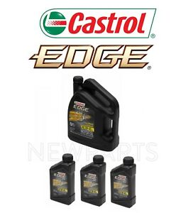 8 Quarts Engine Oil Castrol Edge 5w 40 Full Synthetic For Mercedes Bmw Vw Audi