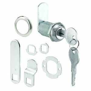 Prime line Products U 9945ka 1 1 8 inch Cam Lock Stainless Face Diecast