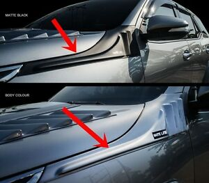 New Toyota Fortuner 2015 17 Side Vent Protection Cover Trims Black Or Body Color