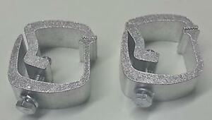 Api 2 Piece Rocker Style Truck Cap Mounting Clamps Ac101