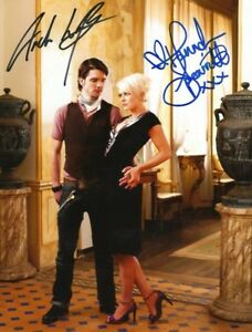 Hannah Spearritt & Andrew-Lee Potts autographs In-Person signed photo
