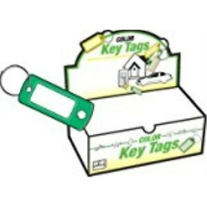Hy ko Prod Co 200pk Id Key Tag ring Kb138 200 Key Tag I d