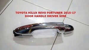 Toyota Hilux Revo Fortuner 2015 17 Genuine Front Chrome Handle Cover For 1 Door