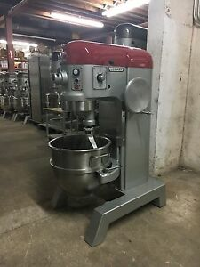 Hobart 60 Qt H 600 Mixer Candy Apple Red Velvet Cake Cupcake Pizza Dough Bread