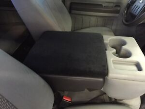 Auto Console Cover Center Armrest Fleece Custom Made Ford F 150