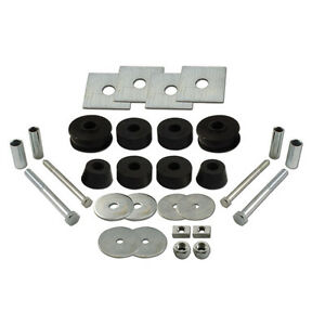 1963 1964 1965 1966 Chevy Gmc Truck Cab Mount Kit c10 20 rubber