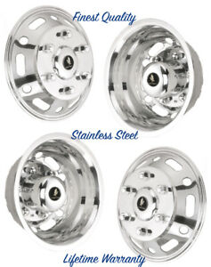 16 Mercedes benz Van Steel Wheel Covers Rim Liner Hubcap Simulators Set Of 4