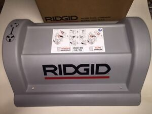 Ridgid 1224 Pipe Threader Top Motor Cover Instruction Decal 711 714 Die Head