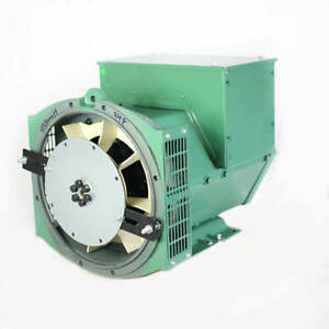 Generator Alternator Head Cgg184j 40kw 1phase Sae 3 10 120 240 Volts Industrial