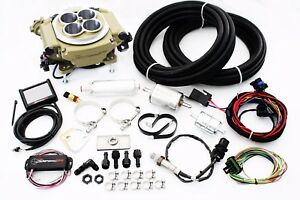 Holley Sniper Classic Finish Efi Fuel Injection System Master Kit 550 516k