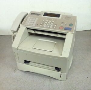 Brother Intellifax 4100e Business Class Laser Fax 6735 Pagecount W Toner