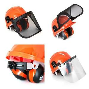 Safety Helmet Hard Hat Head Protection Industrial Work Hearing Protective System