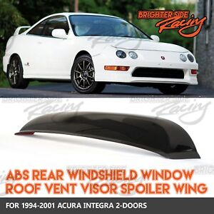 Made For 94 01 Acura Integra 2dr 1pc Rear Window Roof Spoiler Sun Guard Visor