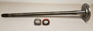 New Rear Axle Shaft 88 91 Suburban 1 2 Ton With Bearing And Seal