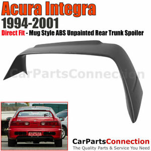 Gen1 Spoiler For Integra 94 01 Mug Style Abs Unpainted Deck Lid Trunk Wing Dc2