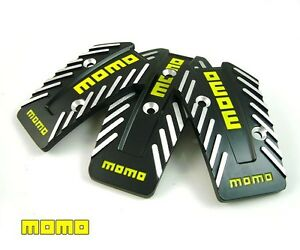 Brand New Latest 2011 Momo Nero Mt Racing Sport Pedal Pad Cover