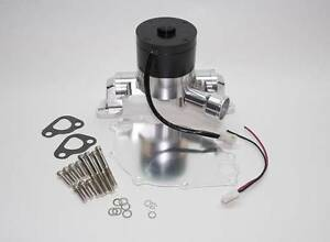 Ford 302 351w Sbf Lightweight Racing Electric Water Pump Billet Aluminum
