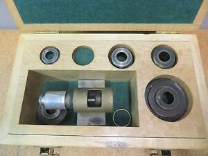 Brown Sharpe Hole Micrometer Bore Gauge Magnesyn L51 118 Case