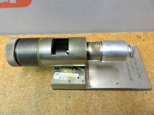 Brown Sharpe Tesa Mikes Hole Micrometer Bore Gauge Magnesyn L51 118