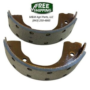 Riveted Brake Shoe Pair Allis Chalmers Model G D10 D12 D14 D15 Tractor 1 Side