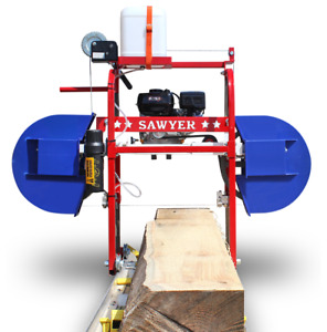 Hud son Sawyer Portable Sawmill Bandmill Band Mill Saw Mill Bandsaw Cabin Kit