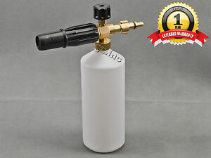 New Lavor Snow Foam Lance Pressure Washer Jet Wash 1l Bottle