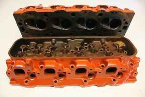 Chevy 3904390 Big Block Cylinder Heads 98cc Oval Port L 34 L 35 L 36 396 427