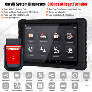 Bluetooth Automotive Full Systems Diagnostic Scanner Obdii Obd2 Scan Reset Tool