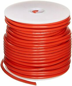 Ul1015 Commercial Copper Wire Bright Orange 12 Awg 0 0808 Diameter 100 Length