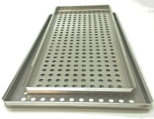 Tuttnauer 3870 Large small Tray Set Stainless Autoclave Tray 3870m 3870e 3870ea