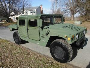 M998 Military 4dr 2010 100 Miles H1 Hummer Military Truck On road Title