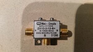Spiltter Zx10 2 12 s Mini circuits 2 1200mhz