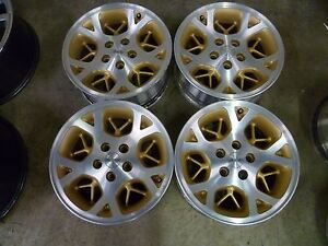 9015 Jeep Grand Cherokee 16 Machine Gold Oem Wheels Rims Set Of 4
