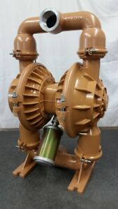 Wilden Style Diaphragm Pump By Nomad 2 Aluminum W Buna Approx 135 Gpm